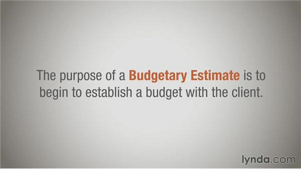 Three types of estimates: Ballpark, budgetary, and definitive: Running a Design Business: Pricing and Estimating