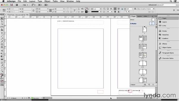 117 Including a total page count in your page numbers: InDesign Secrets