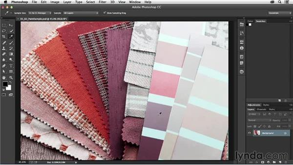 Picking your paint chips: Photoshop for Interior Design: Living Room Composite