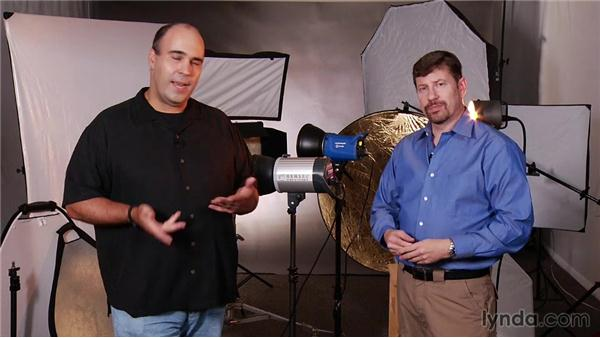 The master and slave relationship for lighting: Up and Running with Studio Strobes