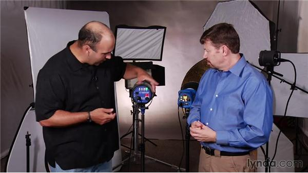 Essential controls: Up and Running with Studio Strobes