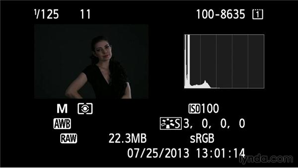 Controlling exposure with power or aperture: Up and Running with Studio Strobes