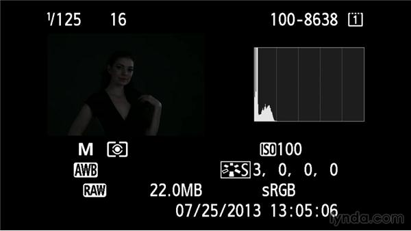 Refining exposure with ISO: Up and Running with Studio Strobes