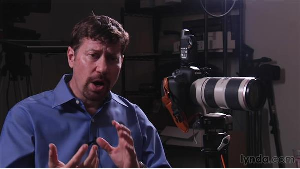 Diffusing the light with an umbrella: Up and Running with Studio Strobes