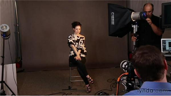 Diffusing the light with a softbox: Up and Running with Studio Strobes