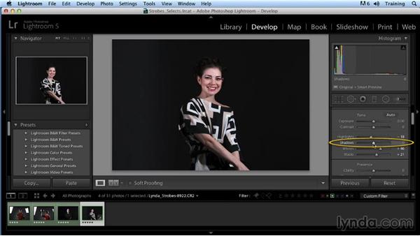 Portrait challenge 2: Up and Running with Studio Strobes
