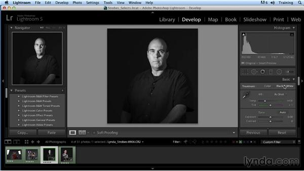 Portrait challenge 4: Up and Running with Studio Strobes