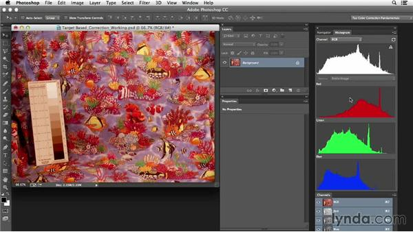 Evaluating the image: Photoshop Color Correction: Target-Based Corrections