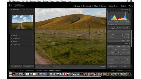 Spot Removal autoselection: Lightroom 5 New Features