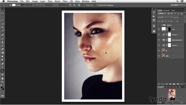Identifying what to remove: Photoshop Retouching Techniques: Skin
