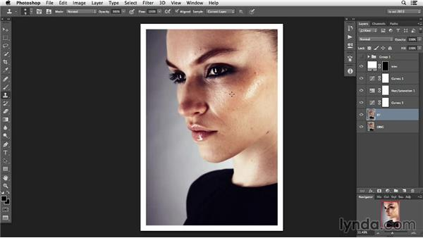 Retouching with a light hand: Photoshop Retouching Techniques: Skin