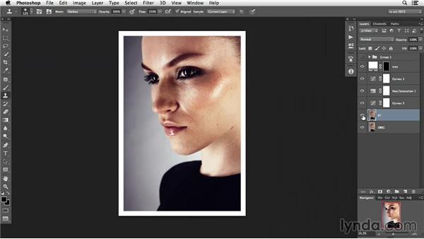 Tone down; don't take away: Photoshop Retouching Techniques: Skin