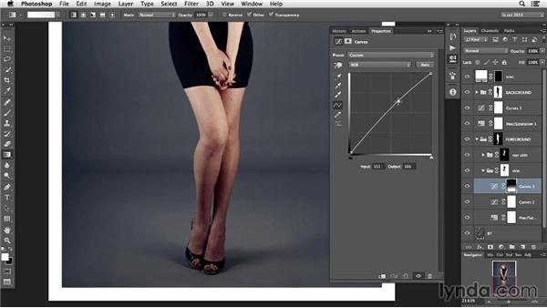 Balancing skin tones: Photoshop Retouching Techniques: Skin