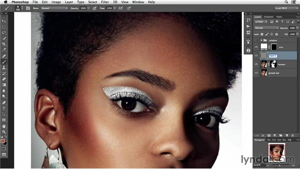 """Gray spots and correcting """"dirty"""" areas: Photoshop Retouching Techniques: Skin"""