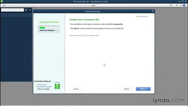 Welcome: QuickBooks Pro 2014 Essential Training