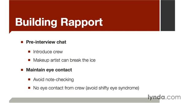Building rapport: The Art of Video Interviews