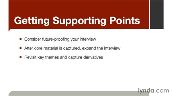 Getting supporting points: The Art of Video Interviews