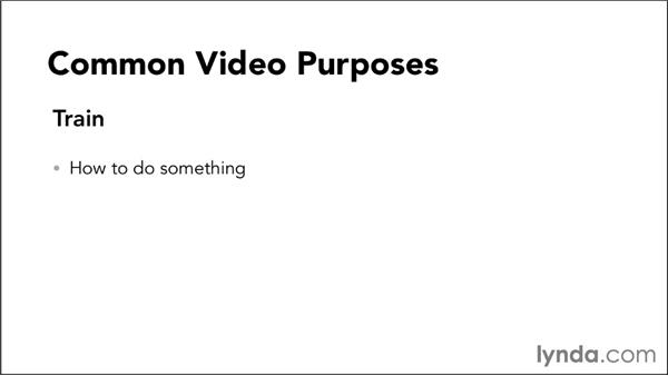 Establishing goals and purposes for an informational video: Video Script Writing