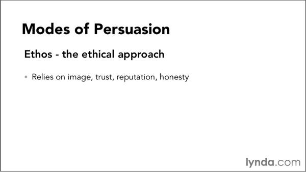 Understanding modes of persuasion: Video Script Writing