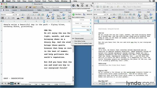 Writing the first draft: Video Script Writing