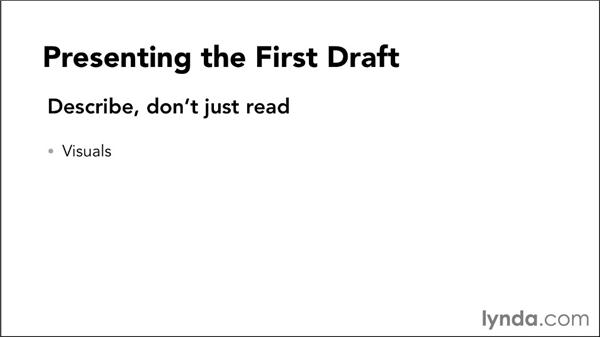 Presenting the script: Video Script Writing