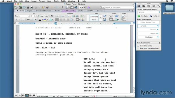 Revising the draft: Video Script Writing