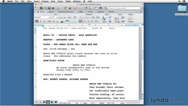 Solution: Write your own script: Video Script Writing