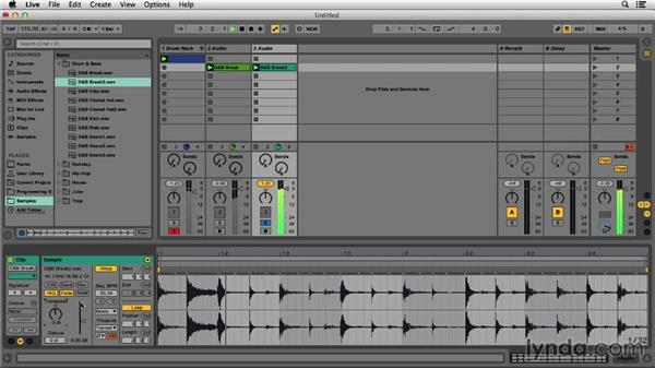 Adding breaks: Programming Beats in Ableton Live 9