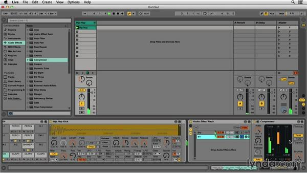 Parallel compression: Programming Beats in Ableton Live 9