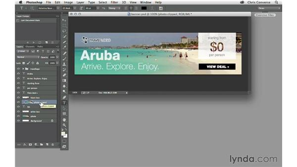 Turning Photoshop layers into variables: Design the Web: Automating Web Graphics
