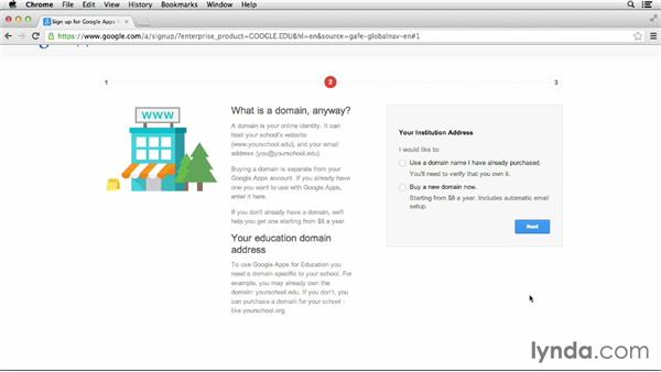 Setting up Google Apps: Google Apps for Educators