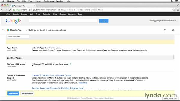 Configuring Gmail: Google Apps for Educators