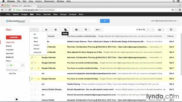 Gmail communication: Google Apps for Educators