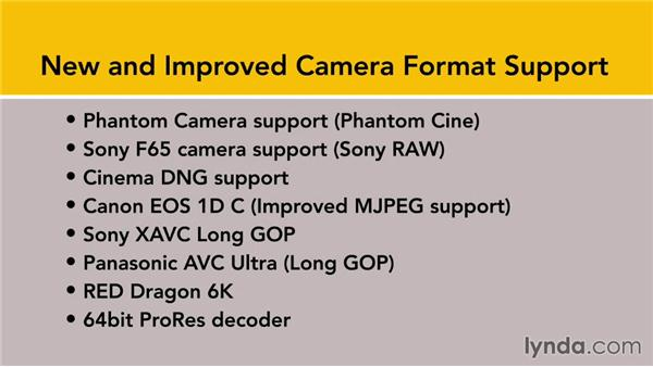 New (and improved) camera format support with 7.1: Premiere Pro: Creative Cloud Updates