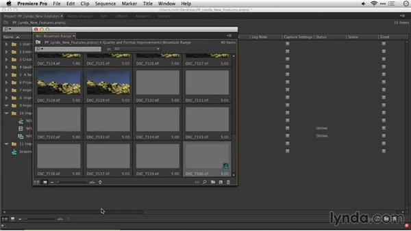 Improved time-lapse support when adding clips to a sequence: Premiere Pro: Creative Cloud Updates