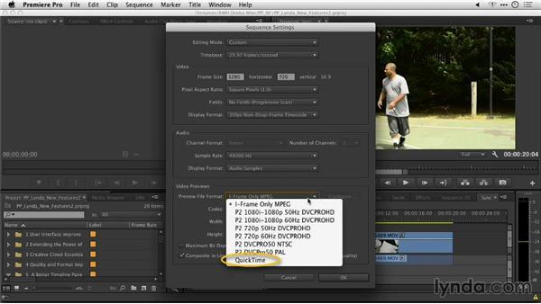 Editable sequence settings: Premiere Pro: Creative Cloud Updates