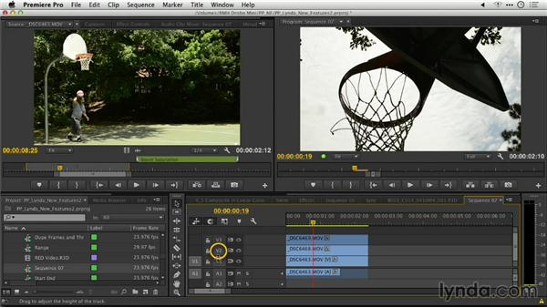Matching frames using clip selection: Premiere Pro: Creative Cloud Updates