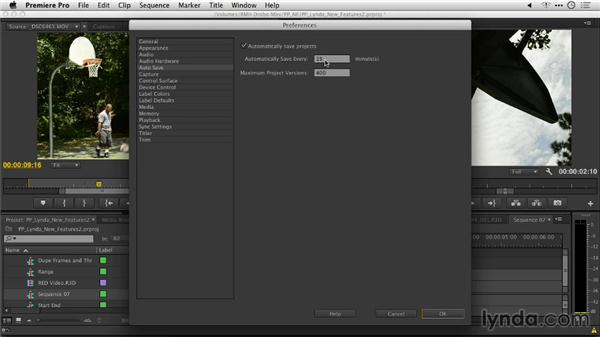 Auto-Save improvements: Premiere Pro: Creative Cloud Updates