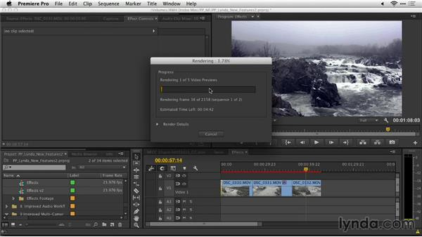 Render all sequences: Premiere Pro: Creative Cloud Updates
