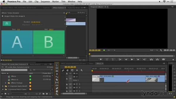 Copying and pasting transitions to multiple edit points: Premiere Pro: Creative Cloud Updates