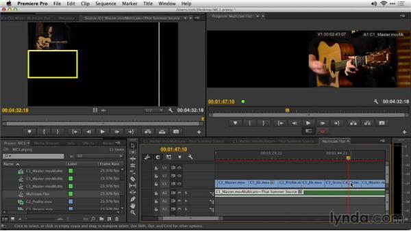 Flattening multicamera sequences: Premiere Pro: Creative Cloud Updates