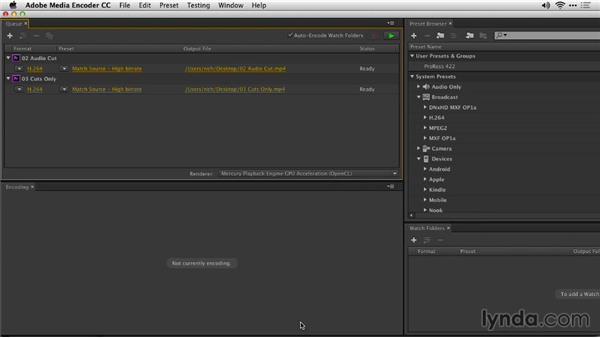 Export multiple clips or sequences: Premiere Pro: Creative Cloud Updates