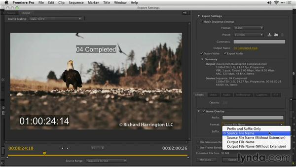 Export with clip names: Premiere Pro: Creative Cloud Updates