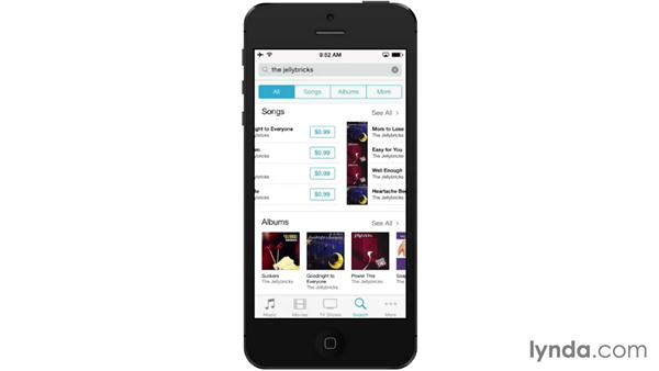 Browsing and buying with the iTunes app: iOS 7: iPhone and iPad Essential Training