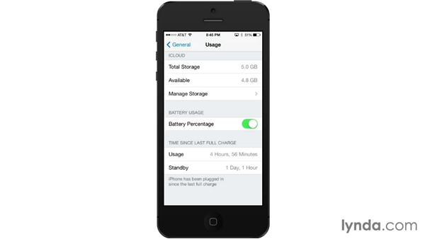 Usage: iOS 7: iPhone and iPad Essential Training