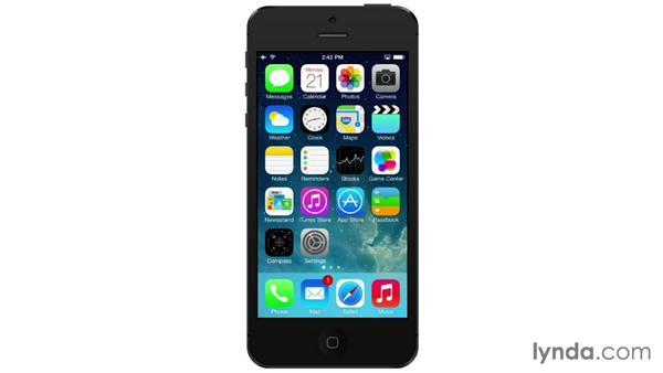 Introducing Siri: iOS 7: iPhone and iPad Essential Training