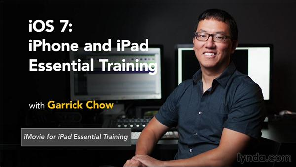Goodbye: iOS 7: iPhone and iPad Essential Training