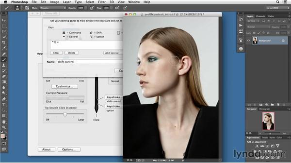 Tablet settings: Photoshop Retouching Techniques: Faces