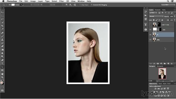 Get cerebral; make decisions: Photoshop Retouching Techniques: Faces