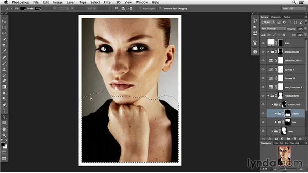 Mask management: Photoshop Retouching Techniques: Faces